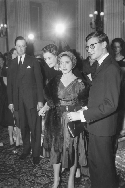 Princezna Margaret a Yves Saint-Laurent, 1958
