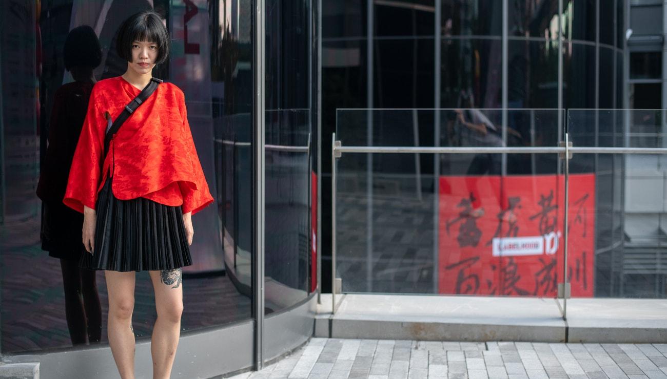 Street style inspirace z fashion weeku v Šanghaji