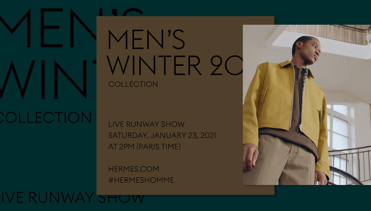 Živě: Hermès Men's Fall-Winter 2021