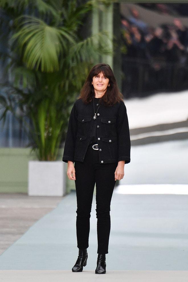 Virginie Viard, přehlídka Chanel Cruise 2020, Paříž, březen 2019
