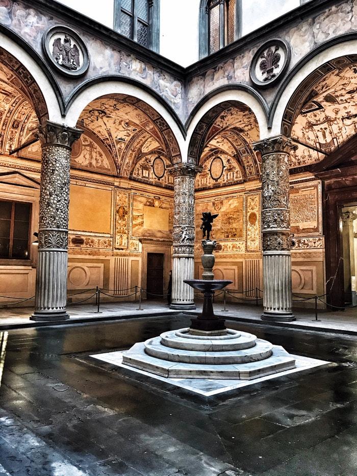 Palazzo Vecchio, Florencie, 2019 Autor: Bára Hranoš/LUSH