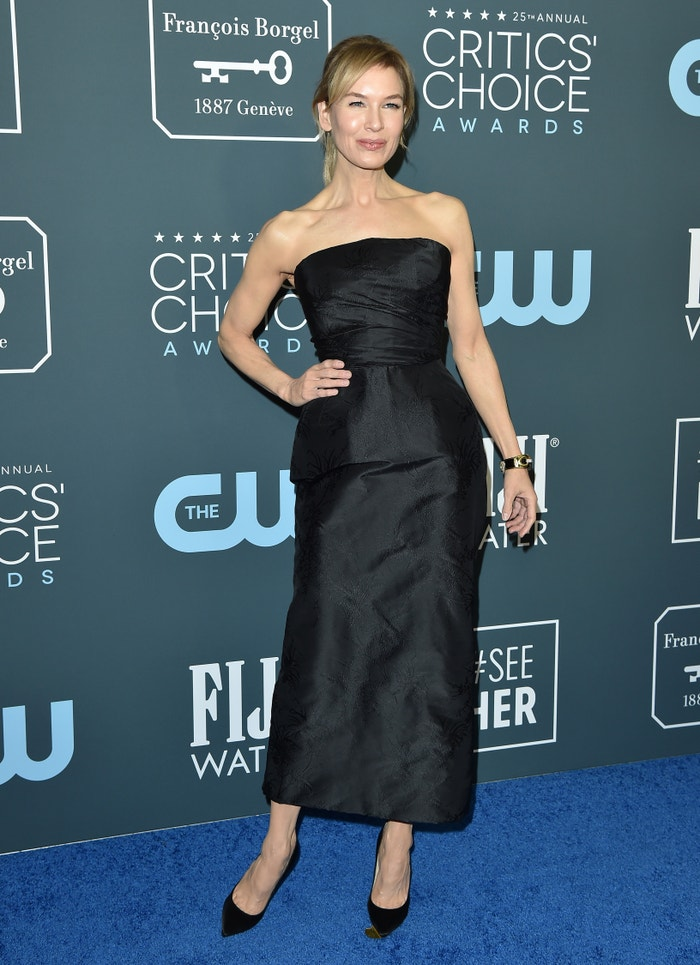 Renée Zellweger in Dior at the Critics' Choice Awards Autor: Getty Images