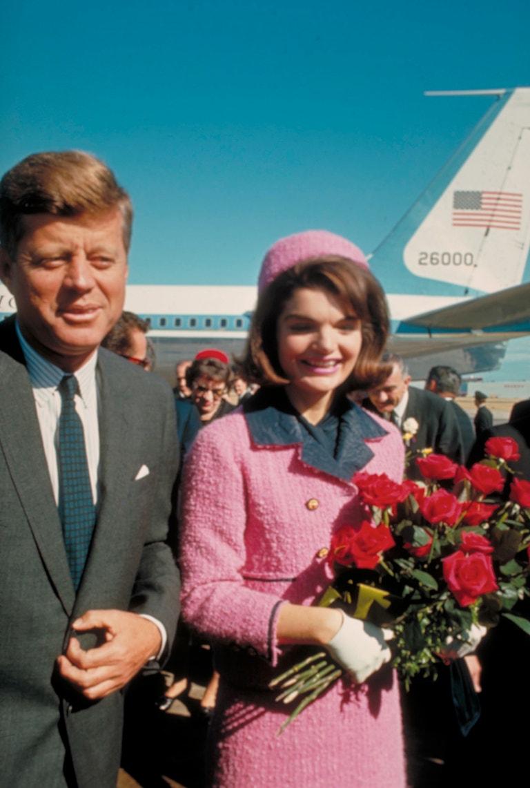JFK a Jackie Kennedy v Dallasu, 22. listopadu 1963