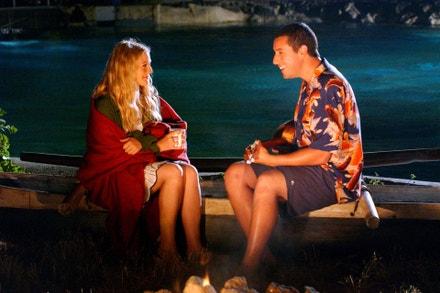 Drew Barrymore a Adam Sandler ve filmu 50x a stále poprvé, 2004