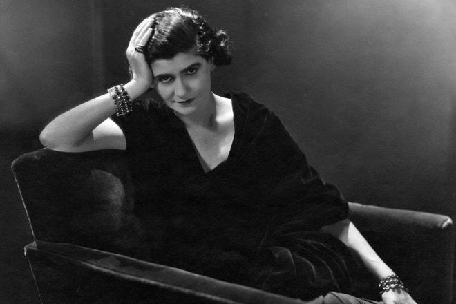Coco Chanel pózuje pro Vanity Fair, 1931
