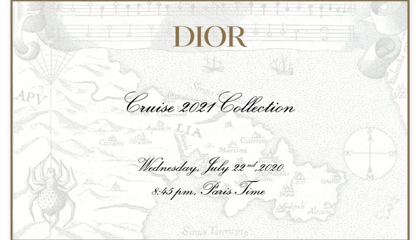 Živě z Apulie: Přehlídka Dior Cruise 2021