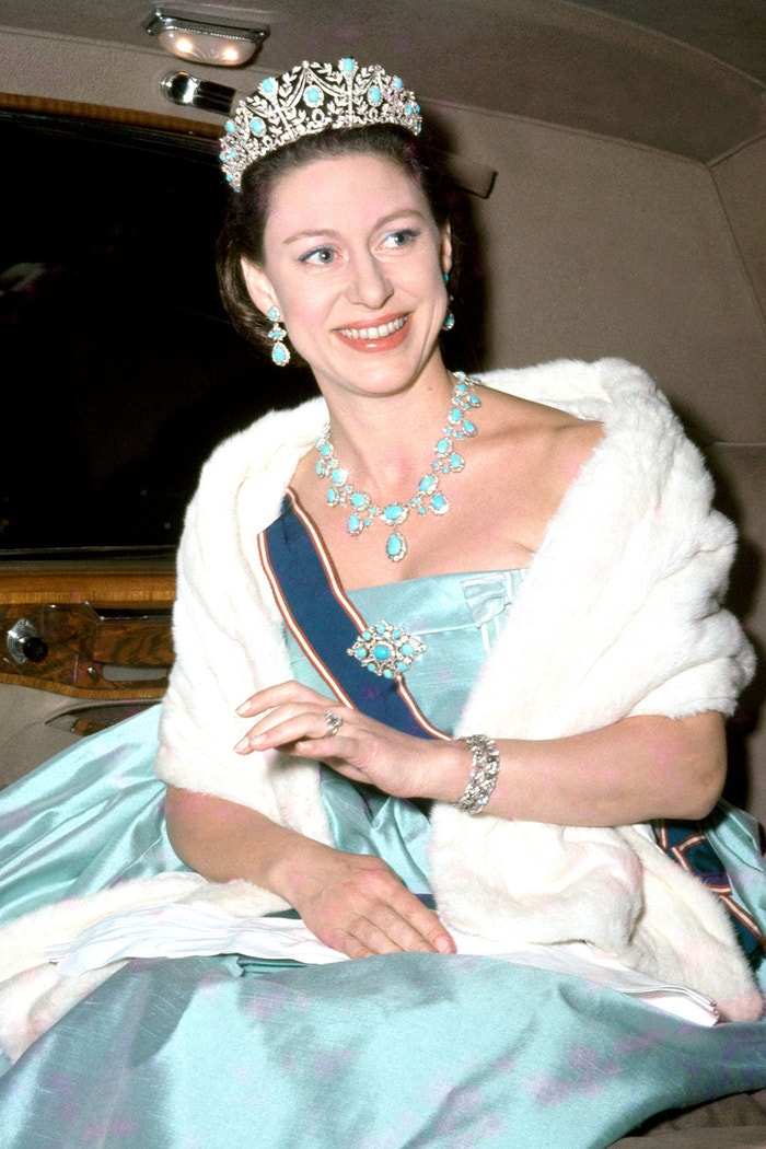 Princezna Margaret s tiárou The Persian Turquoise Autor: Getty Images