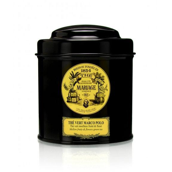 Sypaný zelený čaj Thé Vert Marco Polo, Mariage Frères (prodává The Design Shop), 550 Kč
