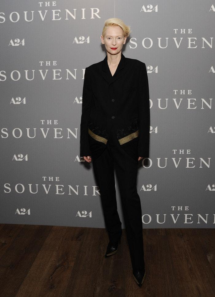 Tilda Swinton na newyorském promítání snímku The Souvenir, 2019 Autor: Daniel Zuchnik/Getty Images for A24