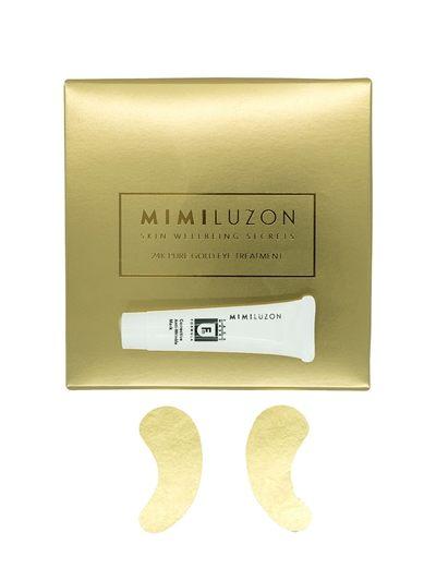 Eye patches tak zlaté a tak cool, že si je nebudete chtít sundat ani při výstupu z letadla  Mimi Luzon (prodává Luisa Via Roma), € 232