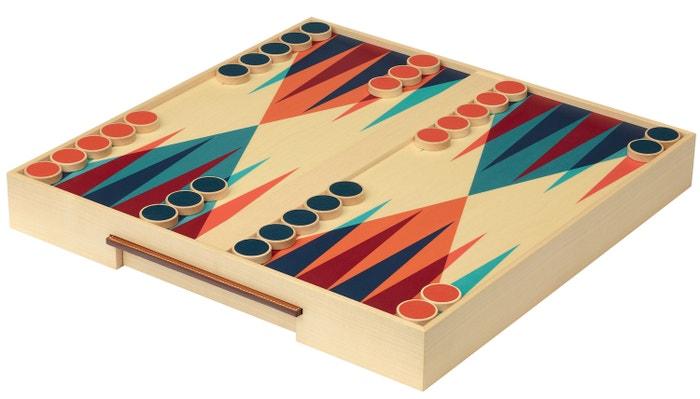 Backgammon z javorového dřeva, Hermès