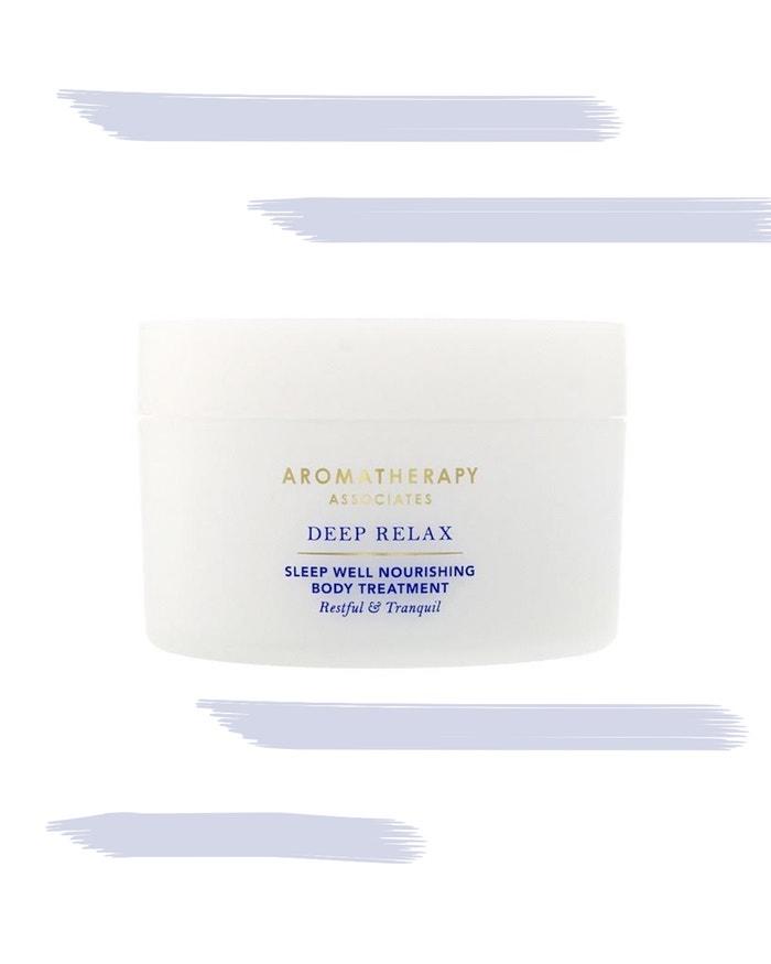 Tělový krém Deep Relax, AROMATHERAPY ASSOCIATES, prodává Net-a-porter, 62 €