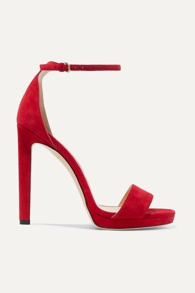 Sandálky Misty, Jimmy Choo, prodává Net-a-Porter, 595 €