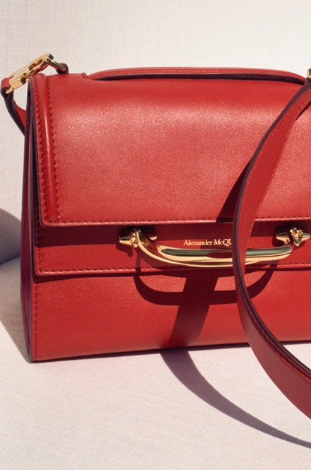Alexander McQueen The Story bag
