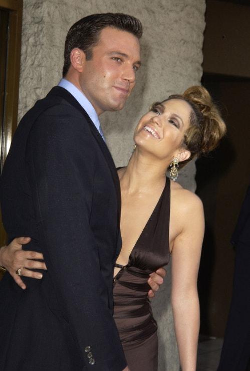 Jennifer Lopez a Ben Affleck, 2003