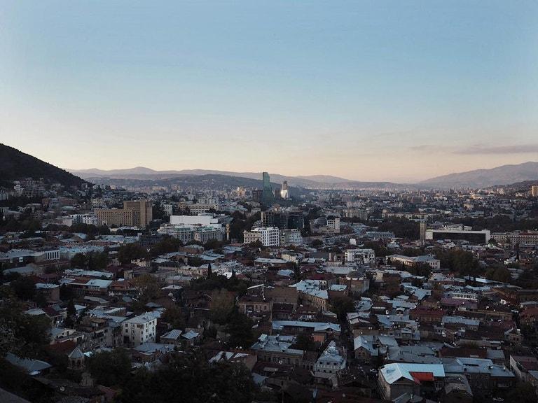 * Narikala* Tbilisi, Gruzie