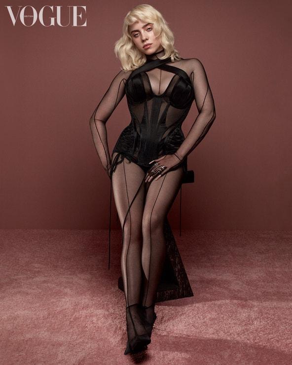 Billie Eilish na fotografii pro britskou Vogue