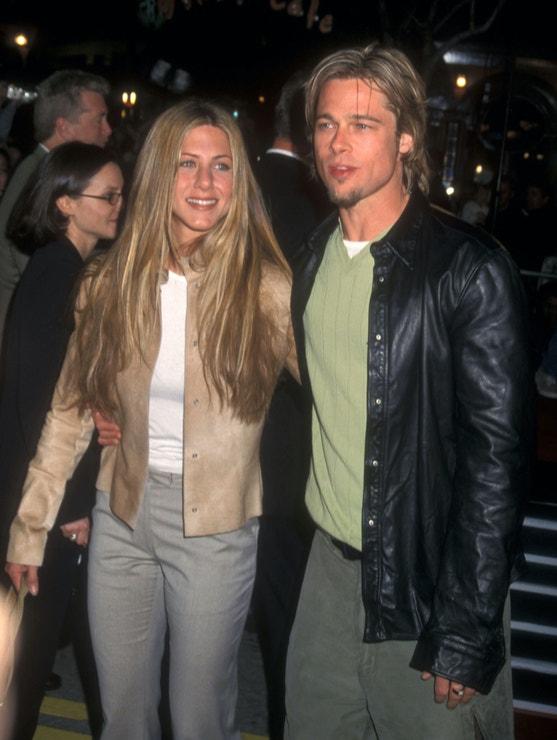 Jennifer Aniston a Brad Pitt, červen 1998
