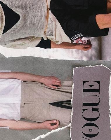 Vogue Supports Local Fashion: freier, kolekce lv-426