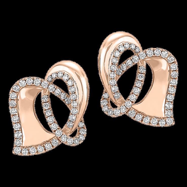 Náušnice zdobené bílými brilianty, ALO Diamonds, 80 133 Kč