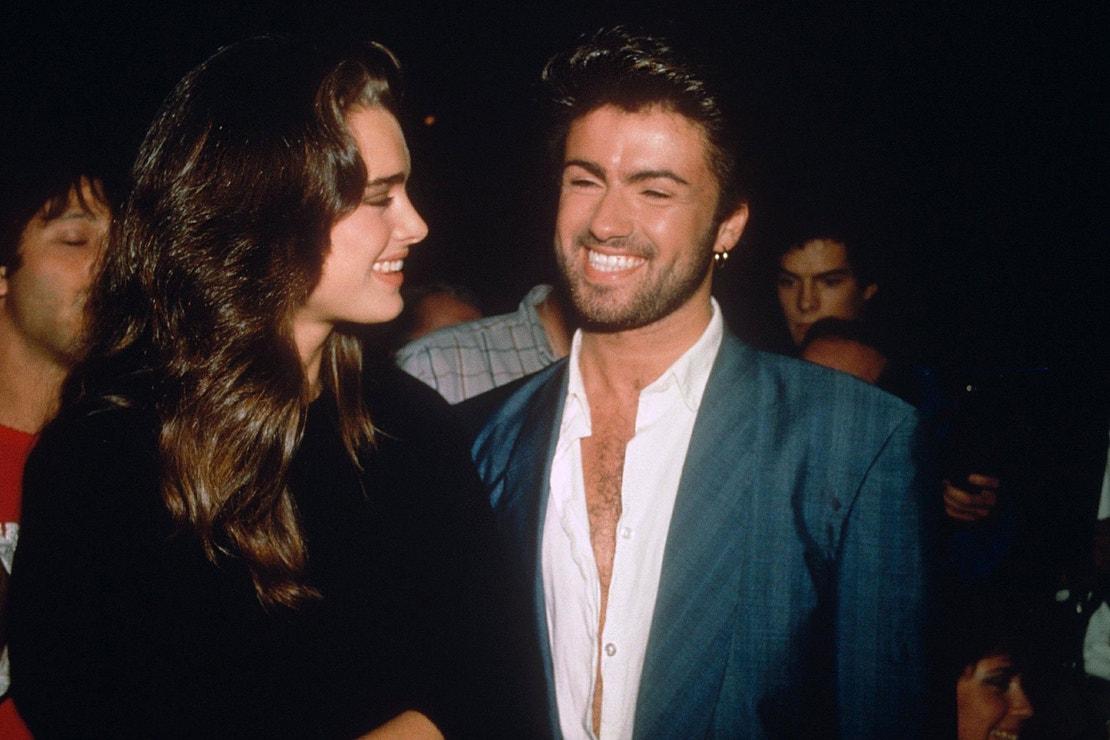 Brooke Shields a Geogre Michael