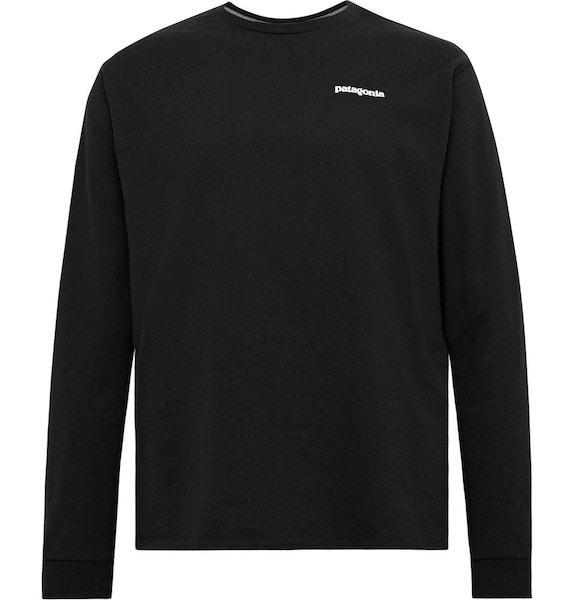 Tričko s dlouhými rukávy ze směsi recyklované bavlny a polyesteru, PATAGONIA, prodává Mr. Porter, 1200 Kč