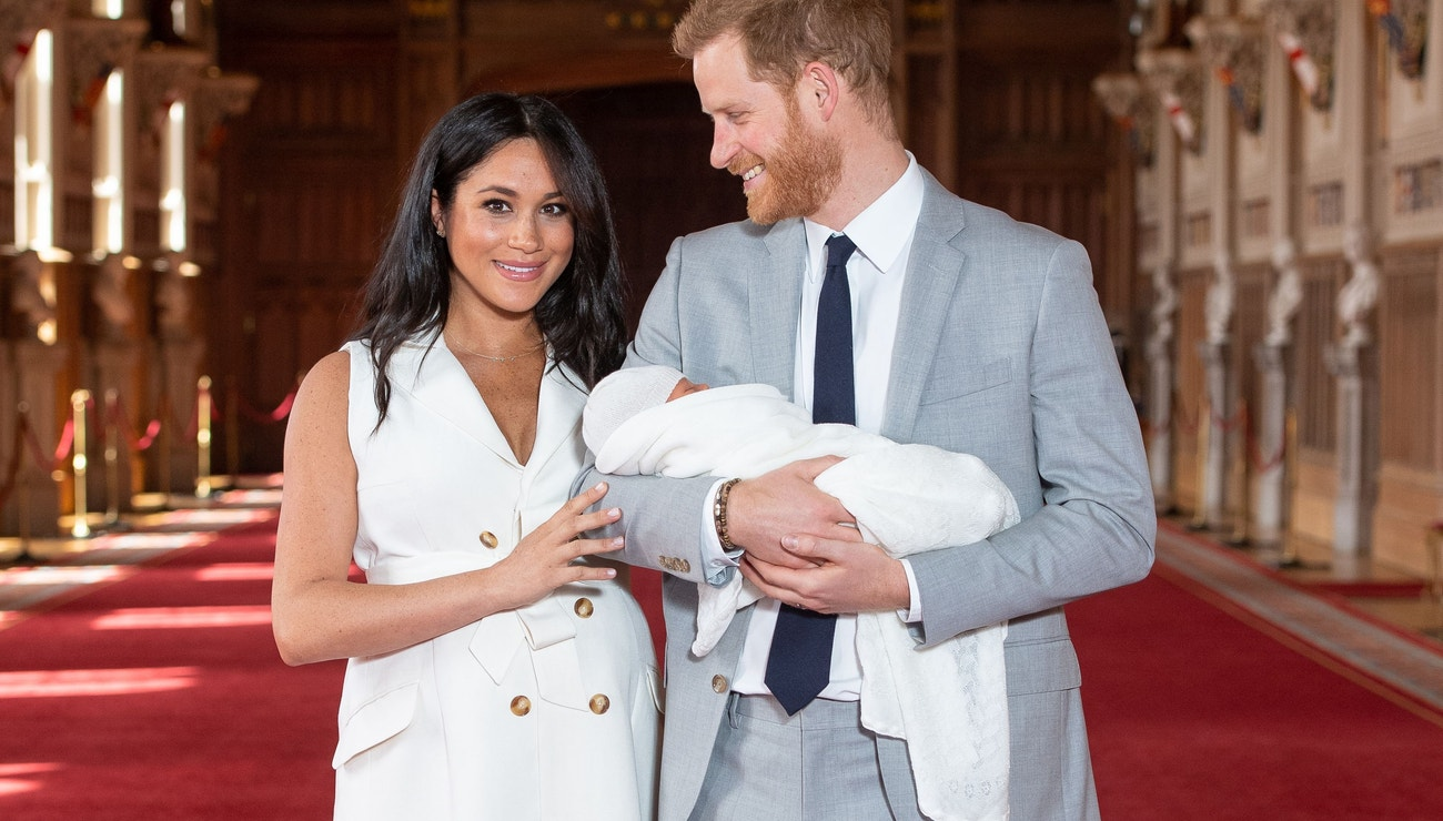 Meghan a Harry představili syna. Dostal jméno Archie