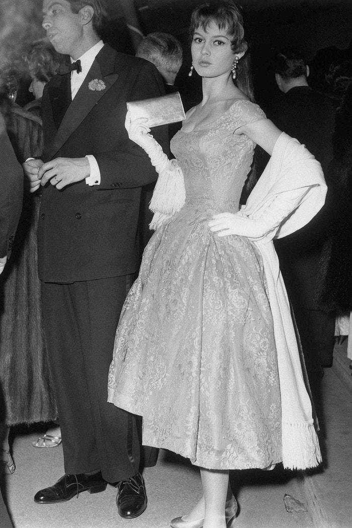 Cannes 1955, Brigitte Bardot a Roger Vadim Autor: LIDO/REX/Shutterstock