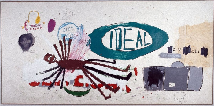 Jean-Michel Basquiat, Levétation, 1987