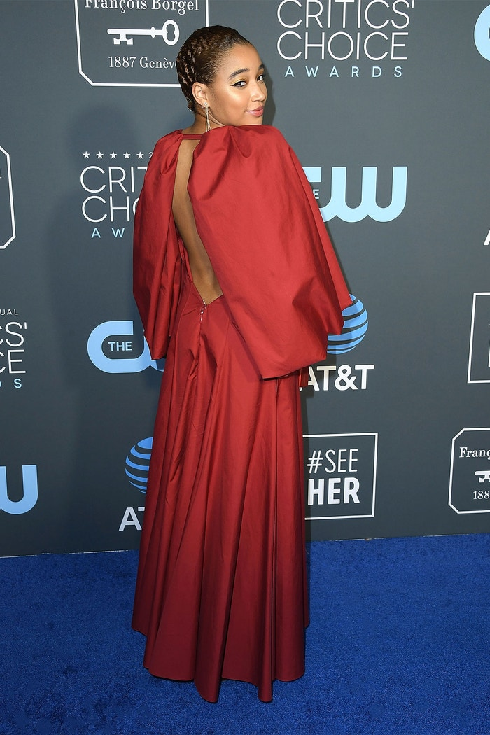 Amandla Stenberg, 24th Annual Critics' Choice Awards (2019)