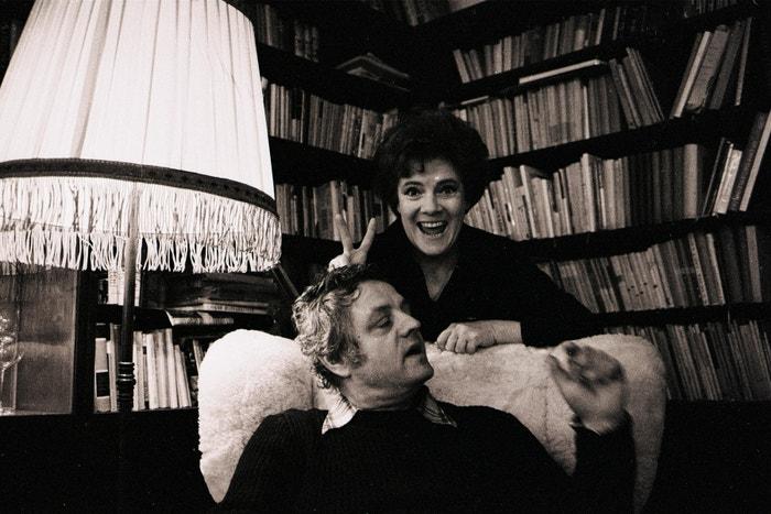 Vlasta Chramostová a Stanislav Milota, 1975 Autor: Profimedia