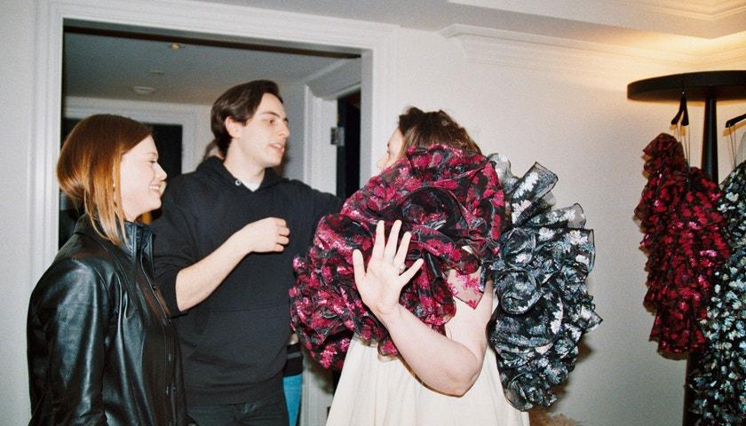 Lena Dunham o svém debutu na londýnském fashion weeku