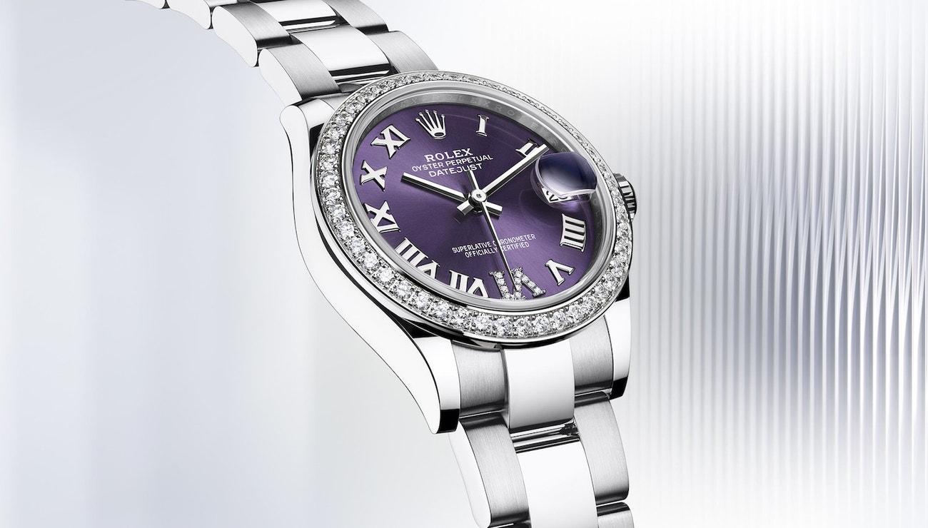 Rolex představuje nové modely klasických dámských hodinek
