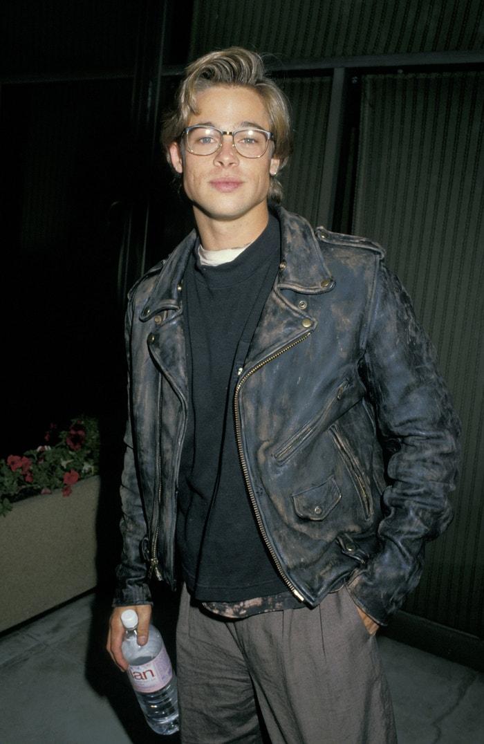 Brad Pitt, 1988 Autor: Jim Smeal/Ron Galella Collection via Getty Images