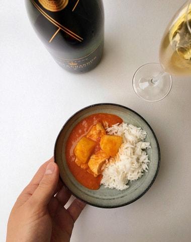 Vogue v kuchyni #14: Kuřecí kari s ananasem à la Louis Vuitton