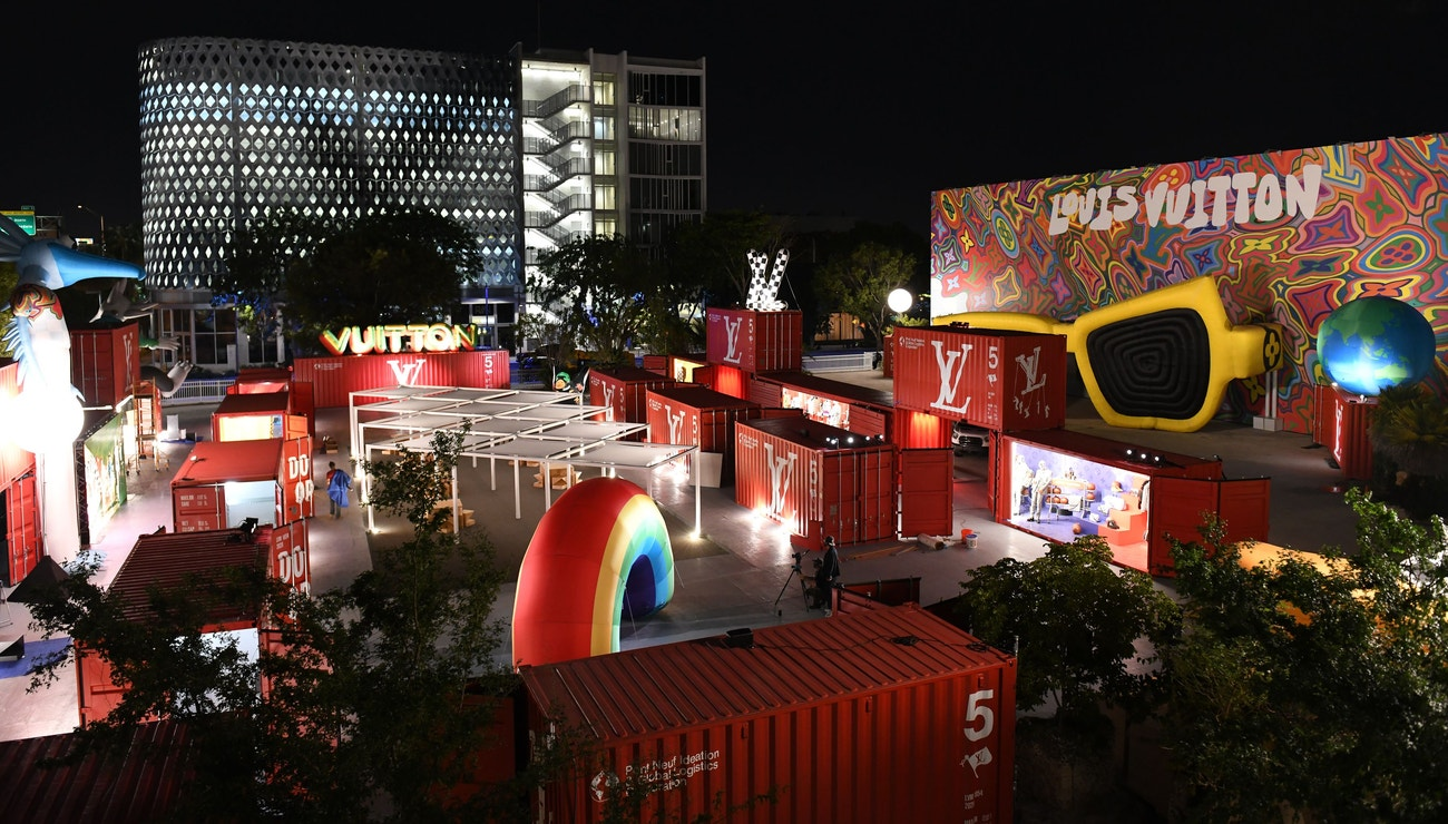 Louis Vuitton's The Adventure of Zoooom with Friends by Virgil Abloh arrives in Miami Art Week