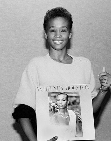 Whitney Houston na zapomenutých snímcích