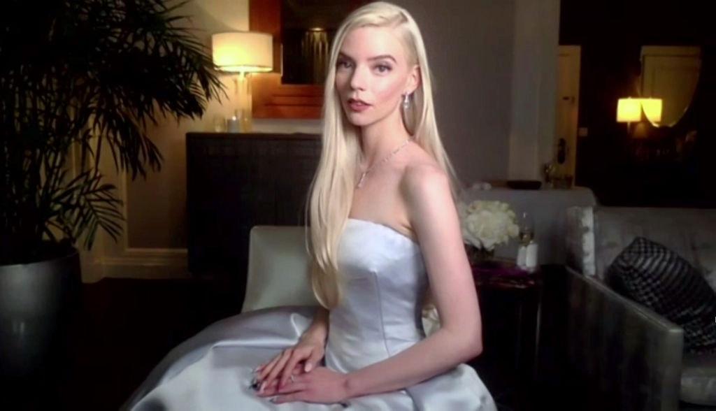 Anya Taylor-Joy se šperky Tiffany
