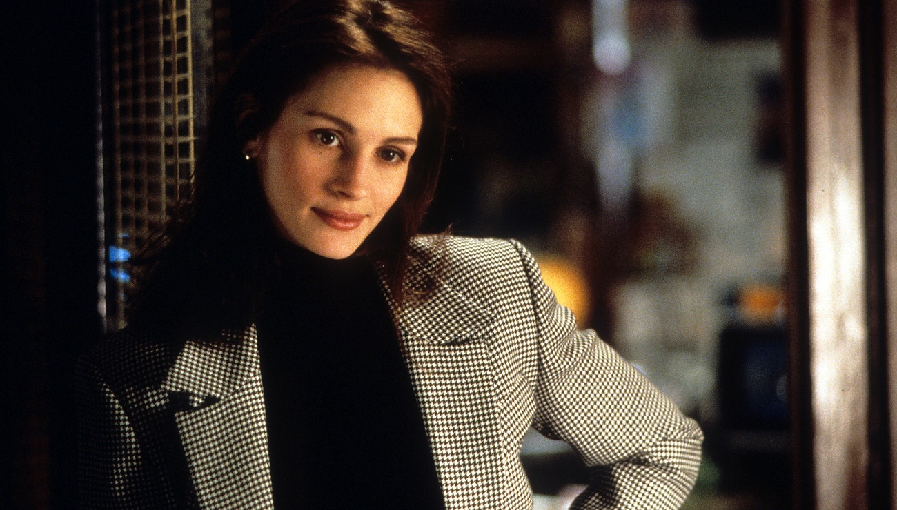 Julia Roberts ve filmu Zbožňuju trable, 1994