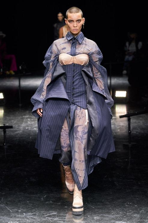 Jean-Paul Gaultier x Sacai Couture podzim - zima 2021/2022