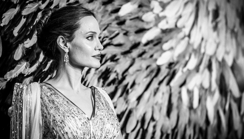 Temná královna Angelina Jolie