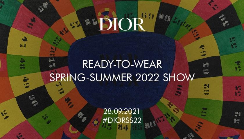 Živě z Paříže: Dior jaro/léto 2022