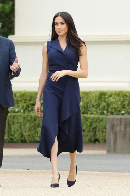 Meghan, vévodkyně ze Sussexu, na návštěvě Austrálie, říjen 2018
