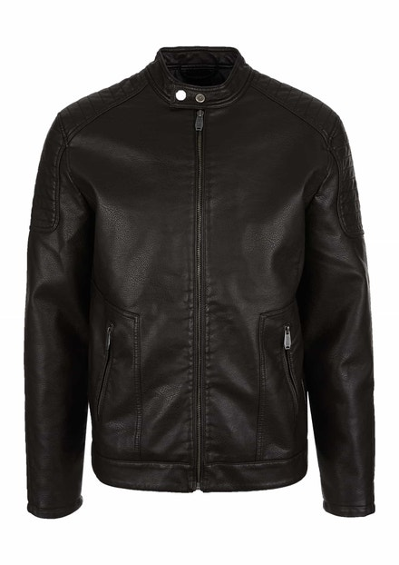 Pánská kožená bunda, s.Oliver, 2199 Kč