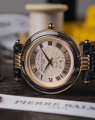 Haute couture ve světě hodinek
