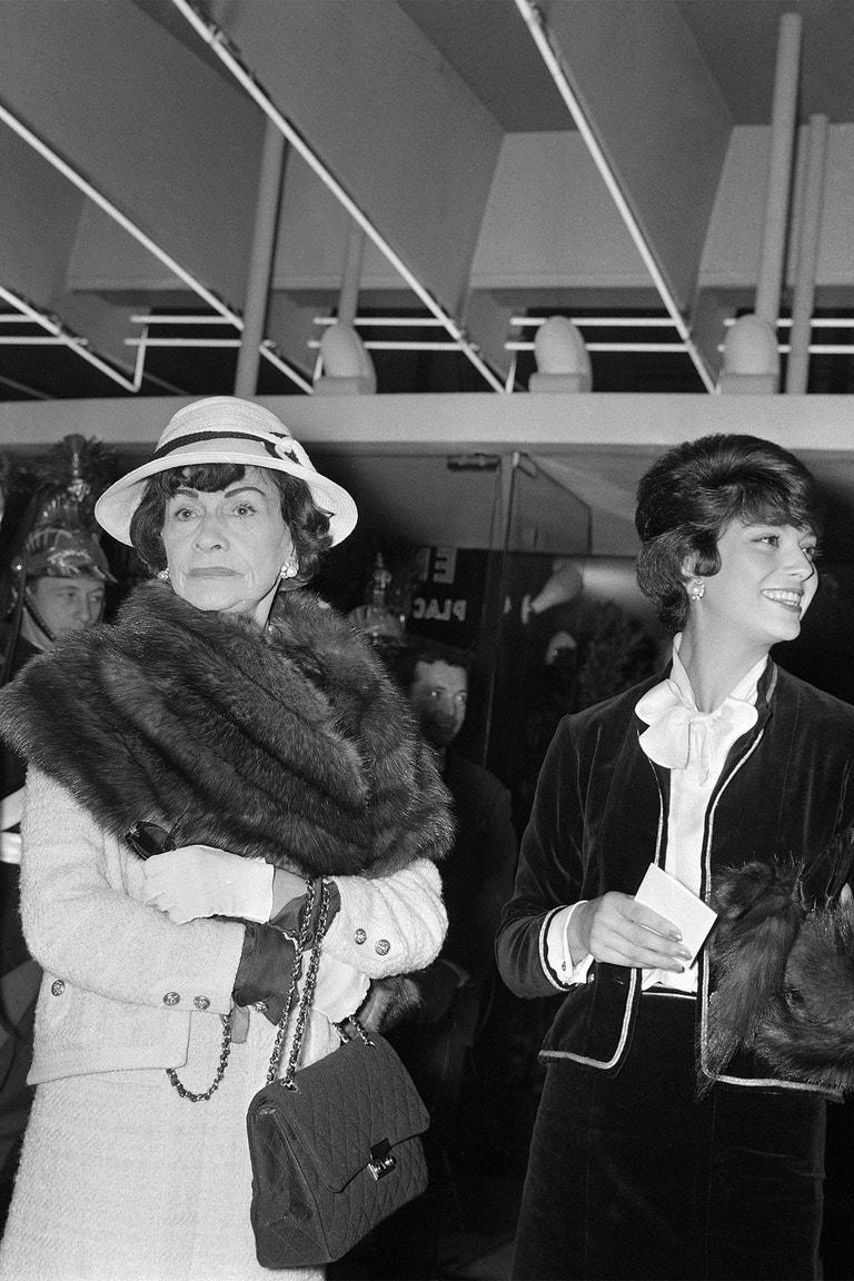 """Gabrielle """"Coco"""" Chanel, 1960"""