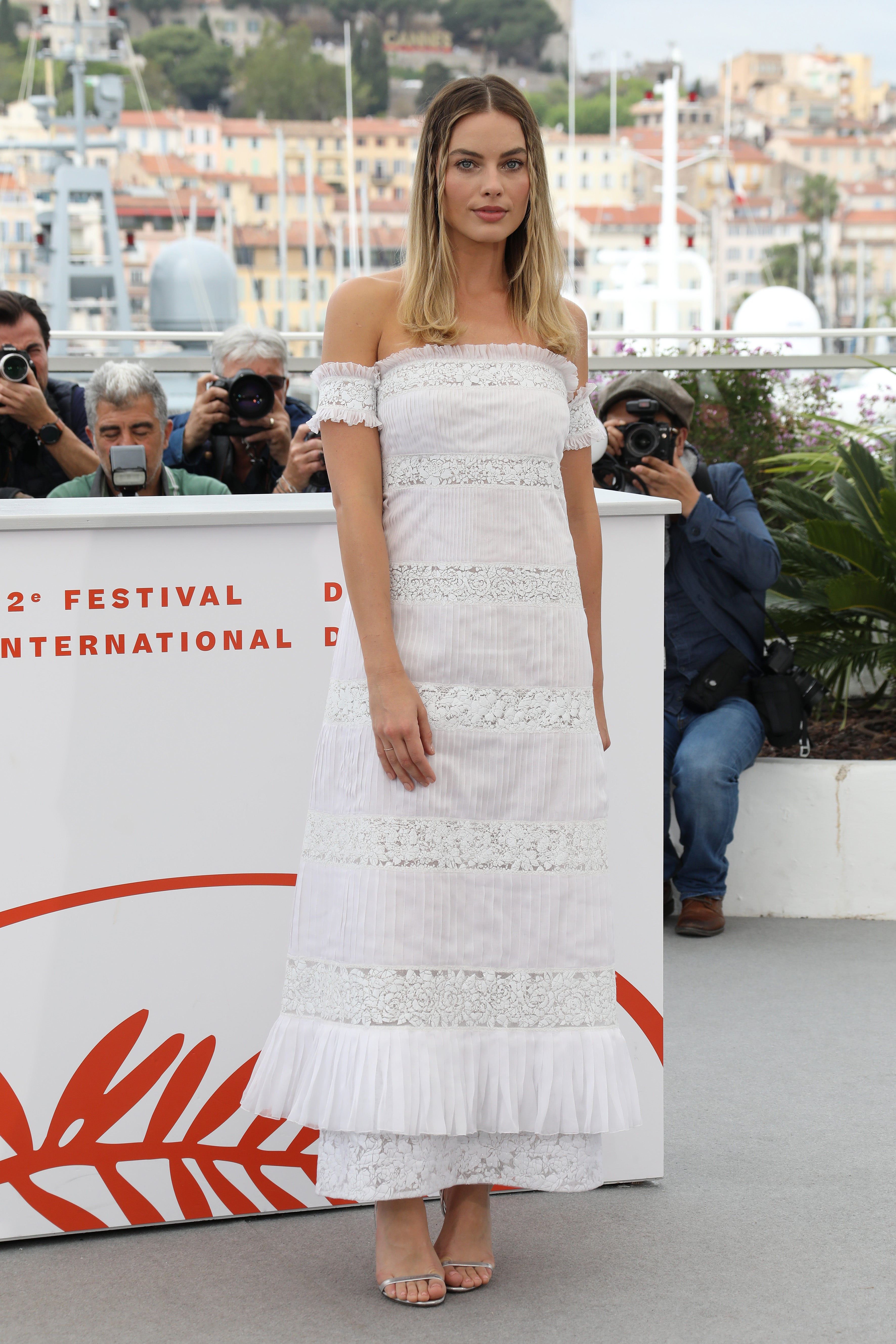Margot Robbie na filmovém festivalu v Cannes, květen 2019 Autor: Tony Barson/FilmMagic