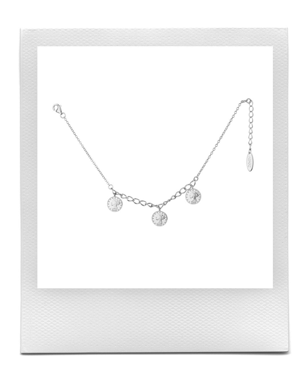 Stříbrný náramek s mincemi, Apart  prodává Apart, 1 169 Kč