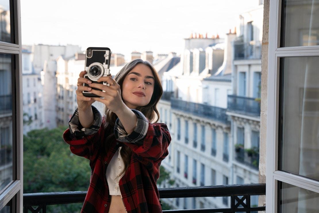 Ze seriálu Emily v Paříži