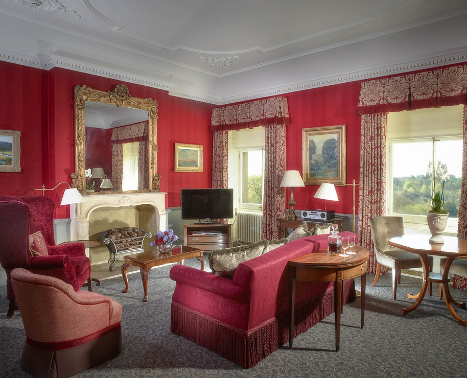 The Prince of Wales Suite v hotelu Cliveden House Berkshire